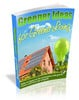 Thumbnail Greener Ideas for Greener Living with MRR