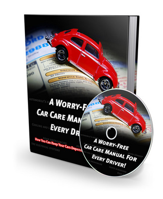 Product picture HOT ITEM!! A Worry Free Car Care Manual For Every Driver