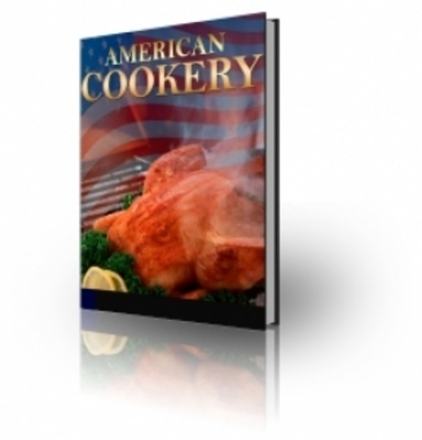 Product picture HOT ITEM!! American Cookery with PLR