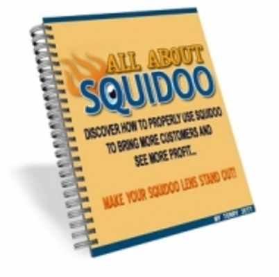 Product picture All About Squidoo with MRR