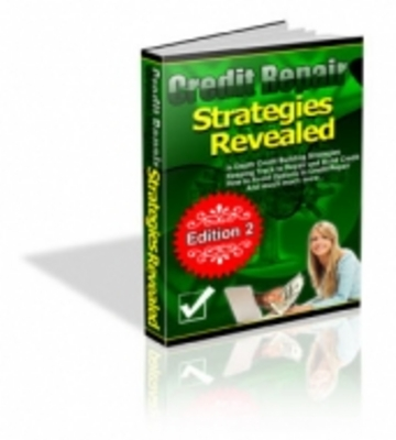 Product picture Credit Repair Strategies Revealed with PLR